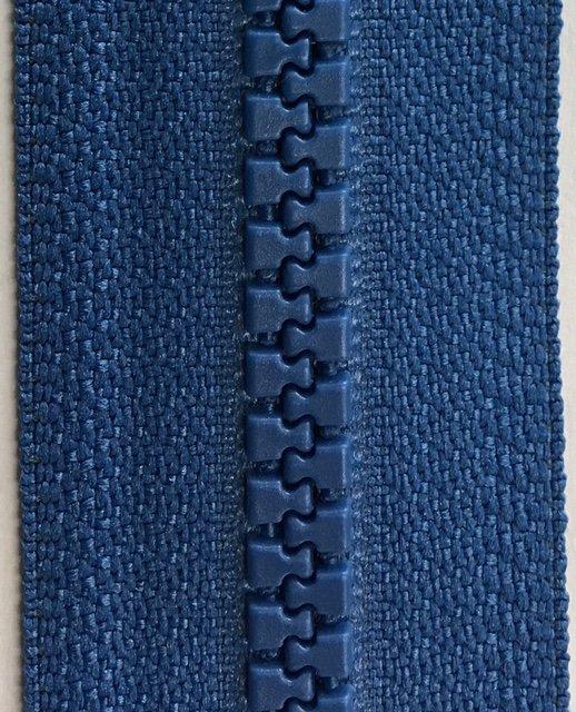 YKK557 YKK 22 inch Activewear Zipper Seperating Rocket Blue