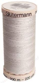 0618 Gutermann Hand Quilting Thread 220 yards Tuskegee Grey