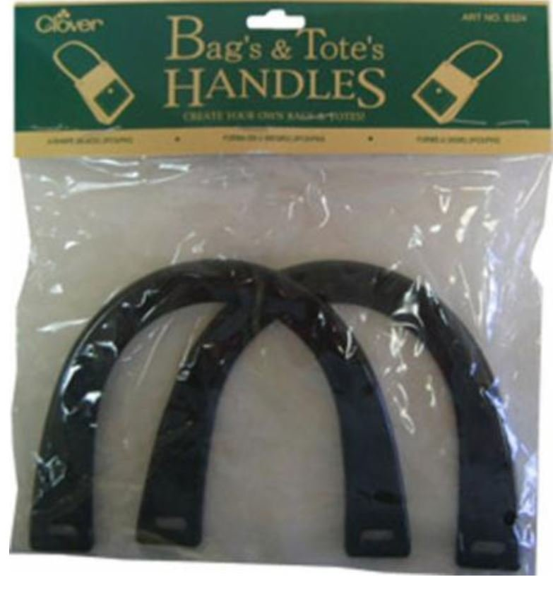 6325 Clover Bag & Totes Handles Amber U-Shape