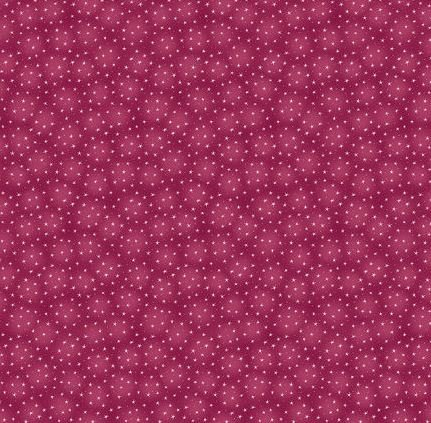 6383-BERRY Blank Starlet Berry background with Tiny Stars