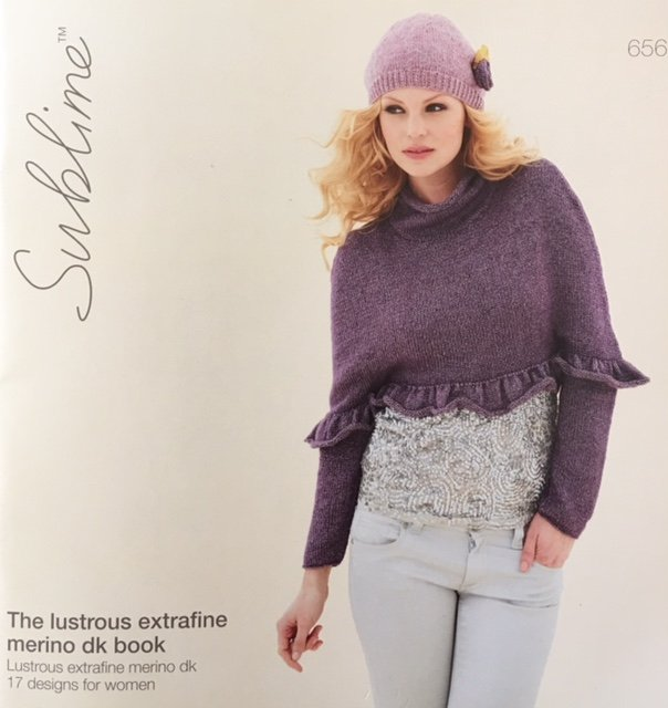 656 Euro Sublime The lustros extrafine merino dk book 17 designs for women