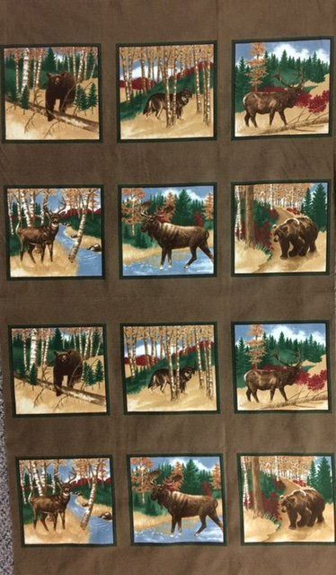 6560-13F Moda Flannel Holly Taylor Timber Trail Panel
