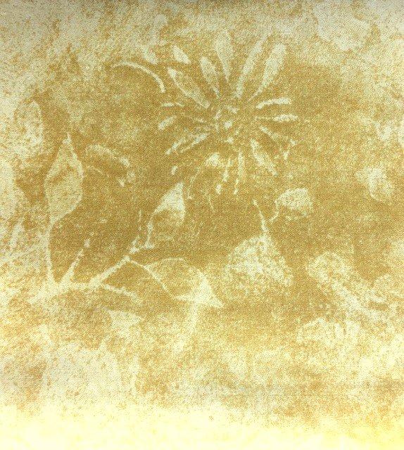 7427-20 RJR, Jinney Beyer Cream Neutral Blender Large Flower Imprint #19