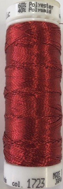 7633-1723 Mettler 60%  Polyester 40% Polyomid Metallic Embroidery Thread 110 yards