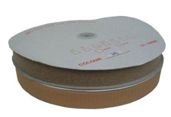 7753-509 3/4 Beige Velcro Loop Sew-in