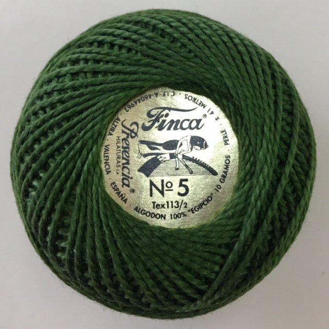816-05-4565 Presencia Avocado Finca Perle Cotton Size 5 10 gram ball