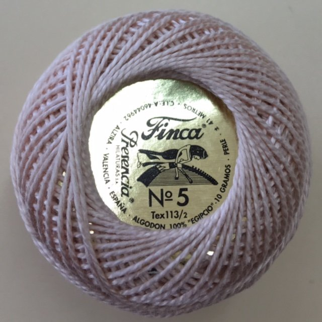 816-05-7933 Presencia Light Desert Sand Finca Perle Cotton Size 5 10 gram ball