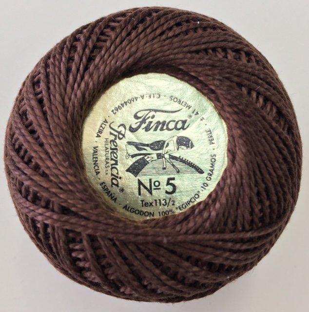 816-05-8080 Presencia Coffee Bean Finca Perle Cotton Size 5 10 gram ball