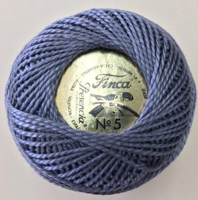 816-05-8785 Presencia Gray Finca Perle Cotton Size 5 10 gram ball