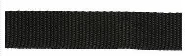 82-580 Webbing 100% Polypropylene 1 Wide Black