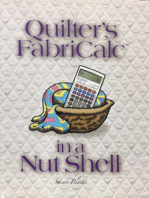 8400-B, Nutshell Concepts Calculated Industries Quilters FabricCalc in a Nutshell Book