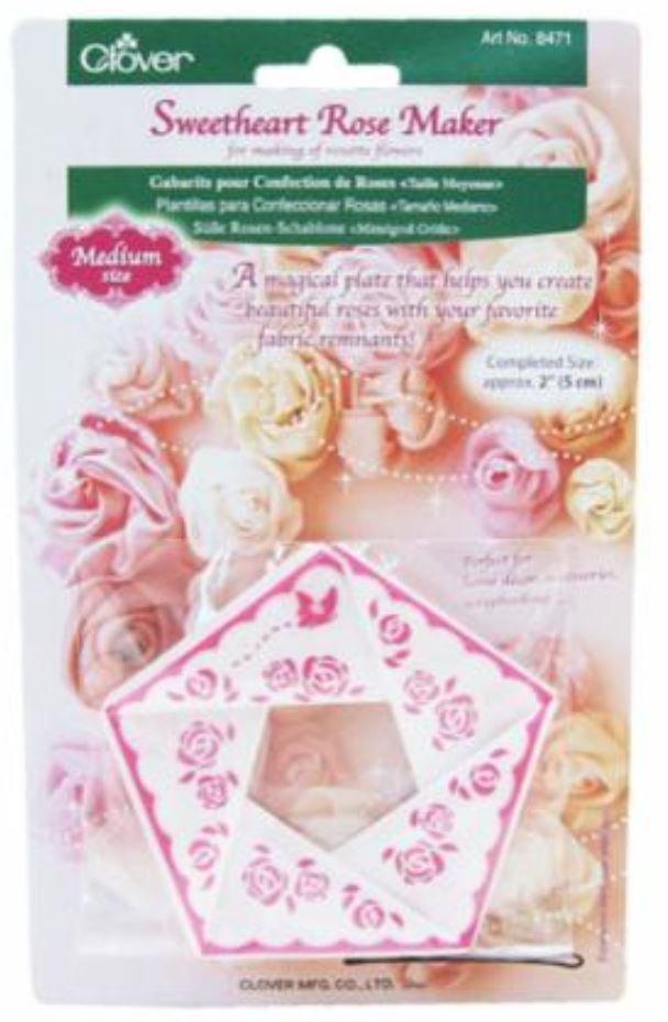 8471 Clover Sweetheart Rose Maker Medium