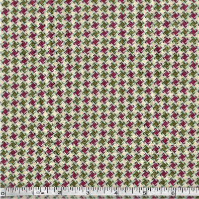 8538-44 Henry Glass My Precious Quilt Herringbone Green & Red