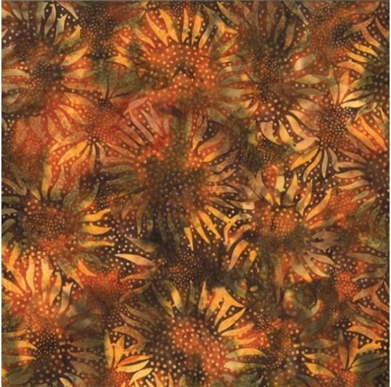 884-154 Hoffman of California Batik Teak