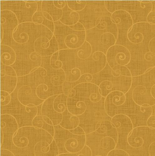 8945-33 Henry Glass Whimsey Basics Gold