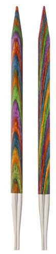 90274 Knit Picks. Interchangable Knitting Neddles WoodTips Sz 4 (3.50mm)