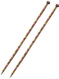 90383 Knit Picks Straight Wood Standard 14 length Sz 15 (10mm)