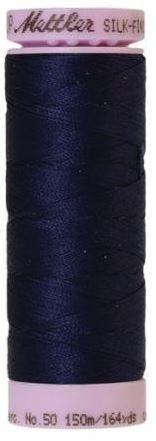 9105-0016 105-557 Mettler Silk Finished Cotton Thread 164 yards Dark Indigo