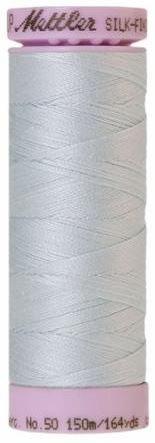9105-0039 105-749 Mettler Silk Finished Cotton Thread 164 yards Starlight Blue