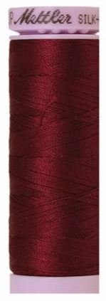 9105-0109 105-738 Mettler Silk Finished Cotton Thread 164 yards Bordeaux