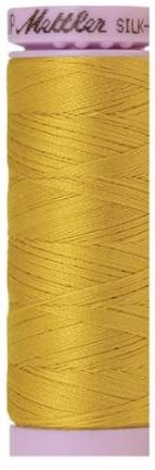 9105-0117 105-827 Mettler Silk Finished Cotton Thread 164 yards Nugget Gold
