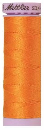 9105-0122 105-829 Mettler Silk Finished Cotton Thread 164 yards Pumpkin