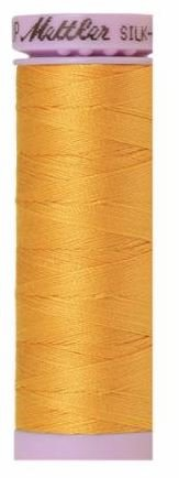9105-0161 105-505 Mettler Silk Finished Cotton Thread 164 yards Marigold