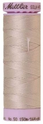 9105-0319 105-573 Mettler Silk Finished Cotton Thread 164 yards Cloud Gray