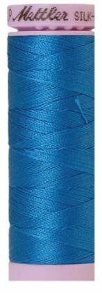 9105-0339 105-892 Mettler Silk Finished Cotton Thread 164 yards Mediterranian Blue