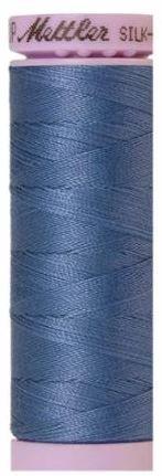9105-0351 105-789 Mettler Silk Finished Cotton Thread 164 yards Smoky Blue