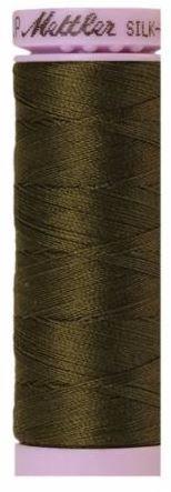 9105-0667 105-717 Mettler Silk Finished Cotton Thread 164 yards Golden Brown
