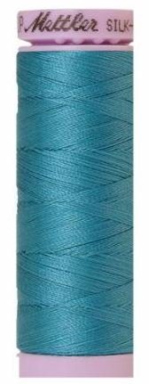 9105-0722 105-563 Mettler Silk Finished Cotton Thread 164 yards Glacier Blue