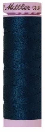 9105-0807 105-920 Mettler Silk Finished Cotton Thread 164 yards Slate Blue