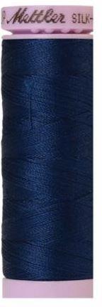 9105-0823 105-957 Mettler Silk Finished Cotton Thread 164 yards Night Blue