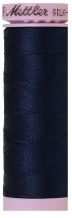 9105-0825 105-916 Mettler Silk Finished Cotton Thread 164 yards Navy