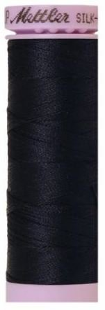 9105-0827 105-792 Mettler Silk Finished Cotton Thread 164 yards Dark Blue