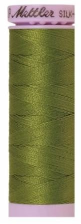 9105-0882 105-547 Mettler Silk Finished Cotton Thread 164 yards Moss Green