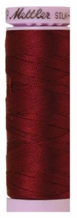 9105-0918 105-602 Mettler Silk Finished Cotton Thread 164 yards Cranberry
