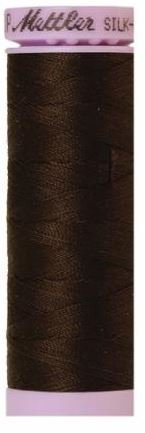 9105-1002 105-745 Mettler Silk Finished Cotton Thread 164 yards Very Dark Brown