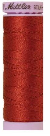 9105-1074 105-534 Mettler Silk Finished Cotton Thread 164 yards Brick