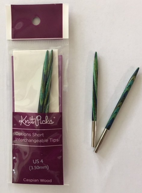 91201 Knit Picks Short Interchangable Needles US4
