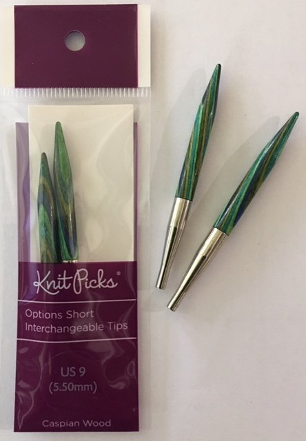 91206 Knit Picks Short Interchangable Needles US9