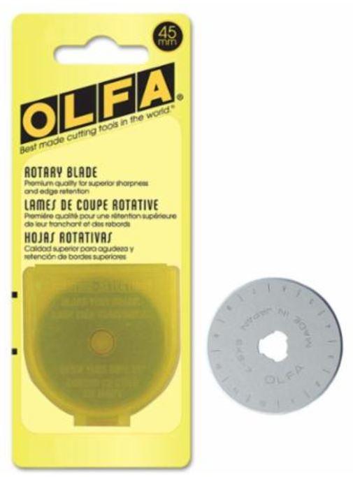 9452 Olfa 45mm Rotary Blades RB45-1