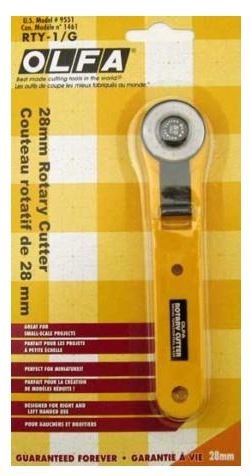 RTY-1/C Olfa 28mm Rotary Cutter