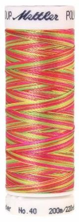 4820-9914 Mettler 100 % Polyester Variegated Embroidery Thread 220 yards