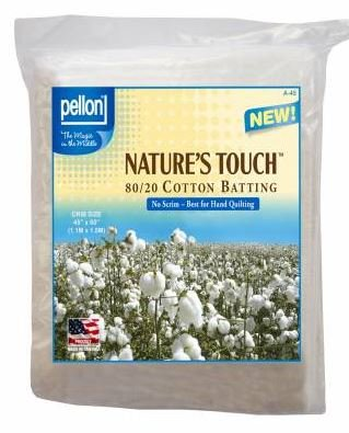 A-45 Pellon Baby Batt 45 by 60 Natures Touch Natural
