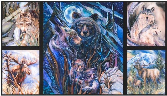 ABK-17379-268 Robert Kaufman North American Wildlife Digital