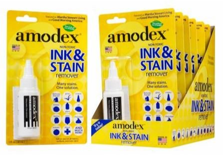 AMBP101, Amodex Ink & Stain Remover Blister Card