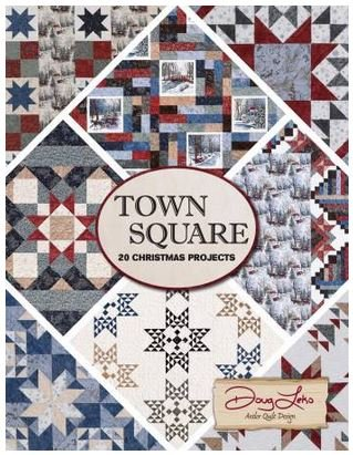 AQD0406  Antler Quilt Design Town Square 20 Projects by Doug Leko