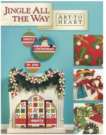 ATH544B Art to Heart Jingle all the Way